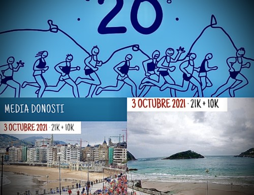 BUS 20º Aniversario Media Maratón Donosti