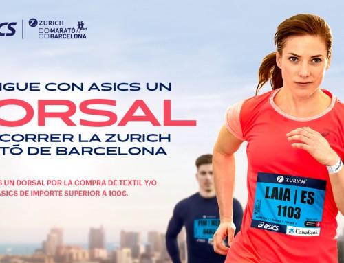 Dorsal gratis  Zurich Marató Barcelona