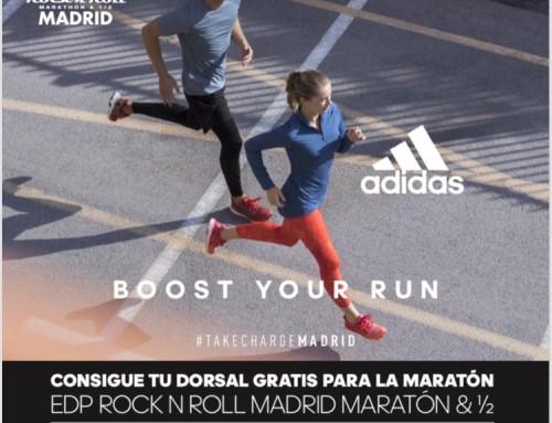 Corre gratis el  EDP Rock ´n´ Roll Maraton de Madrid