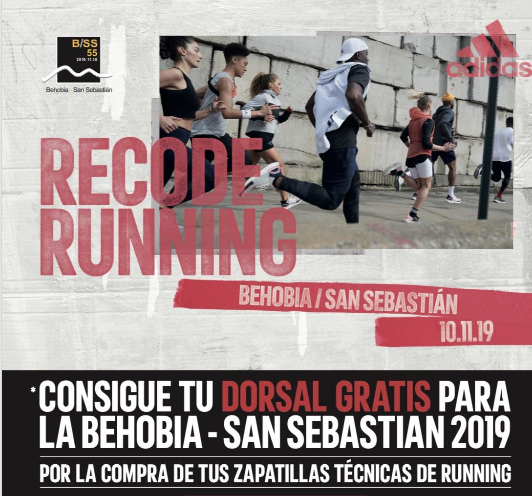 Dorsal gratis para correr la Behobia 2019