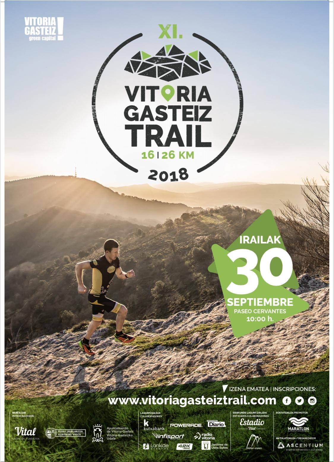 XI VITORIA-GASTEIZ TRAIL – INSCRIPCIONES Y OFERTA